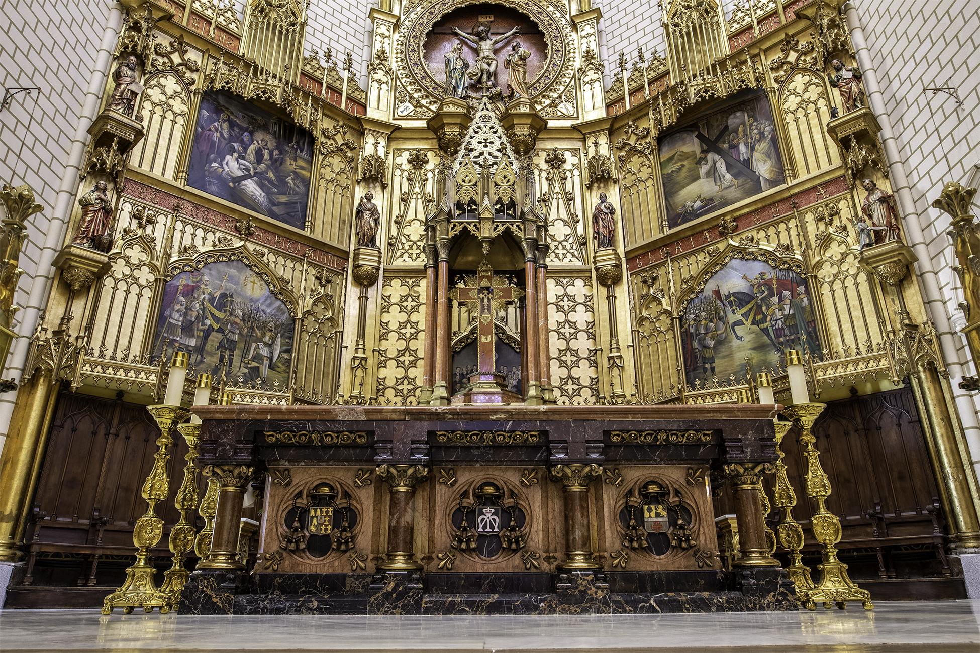 Altar Sana Cruz HDR