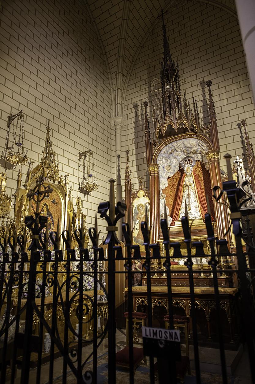 Virgen de la O Santa cruz