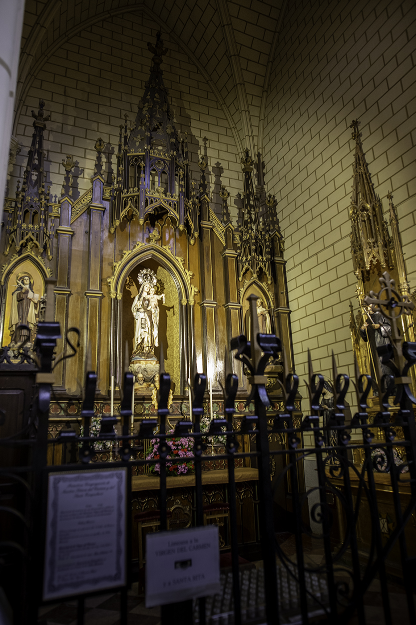 Virgen del Carmen Santa Cruz