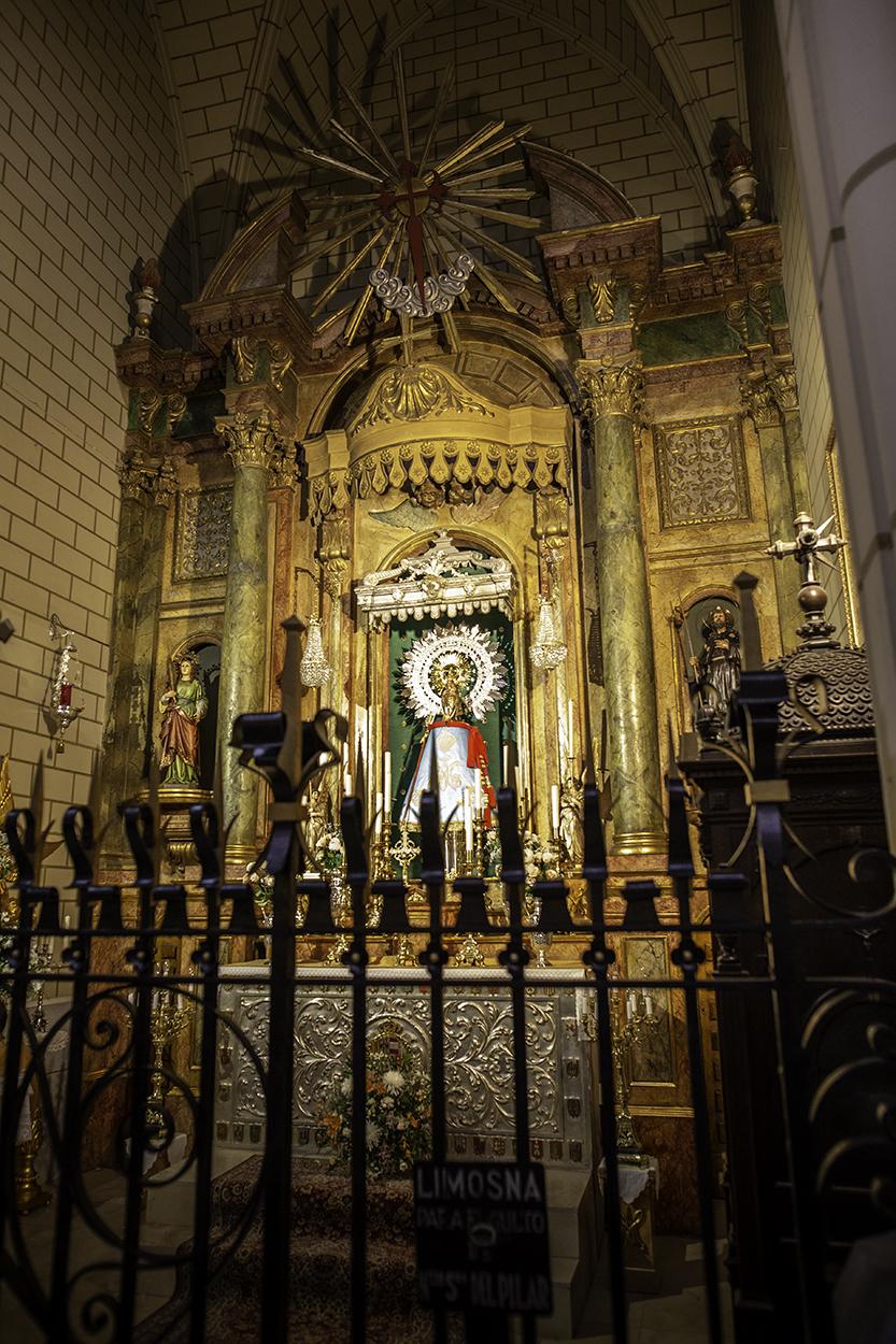 Virgen del Pilar Santa Cruz